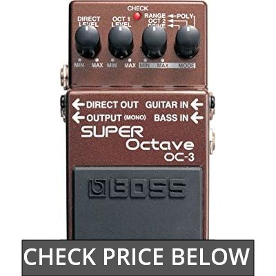 BOSS OC-3 Electronic Keyboard Pedal or Footswitch (OC3) review