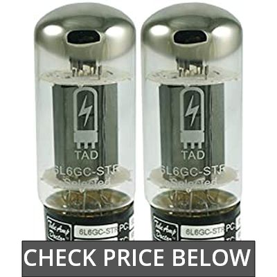 Tube Amp Doctor 6L6GC STR Premium Selected Vacuum Tube, Matched Pair