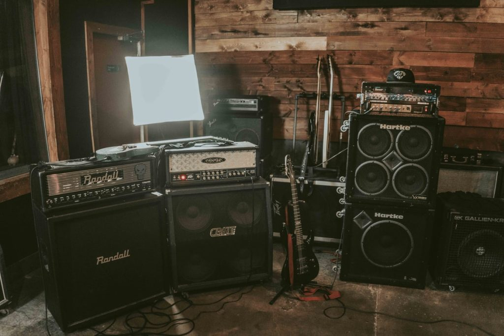 Types of guitar amps